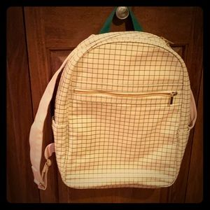 Ban Do canvas backpack with laptop sleeve
